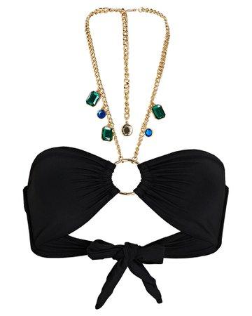 WeWoreWhat Necklace Bandeau Bikini Top | INTERMIX®