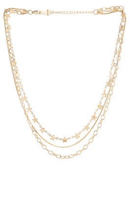 BRACHA Cosmos Star Layered Necklace in Gold | REVOLVE