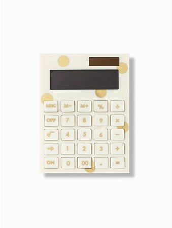 gold dot calculator | Kate Spade New York