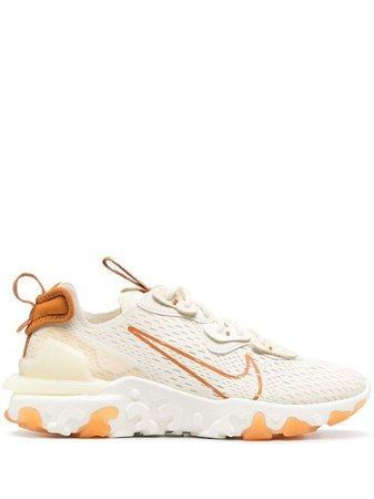 Shop orange Nike Nike React Vision sneakers with Express Delivery - Farfetch