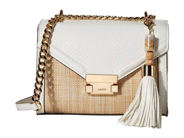 Купить кросс-боди Сакис ALDO, цвет - белый, по цене 7 420 рублей в интернет-магазине Usmall.ru