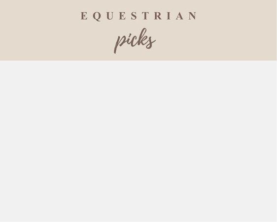 equestrian picks