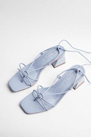 NIKITA Blue Strap Sandals   Topshop