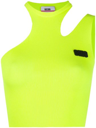 Gcds Asymmetric cut-out Tank - Farfetch