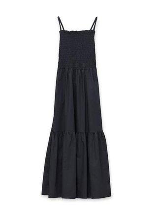 Tazerwalt Sundress by Rodebjer in Black – The Frankie Shop