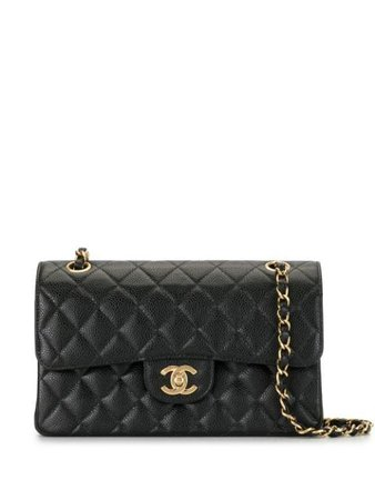 Chanel Pre-Owned 2003 Double Flap Chain Shoulder Bag - Farfetch