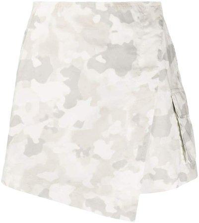 Camouflage-Print Skorts