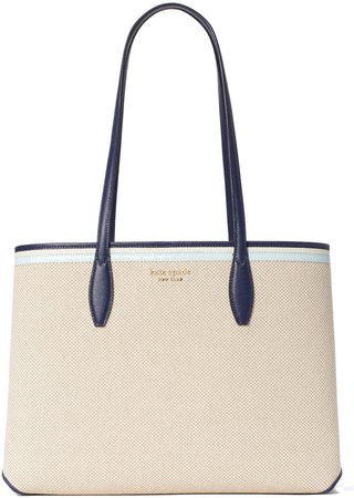 All Day Large Rattan Tote