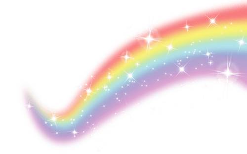 rainbow filler