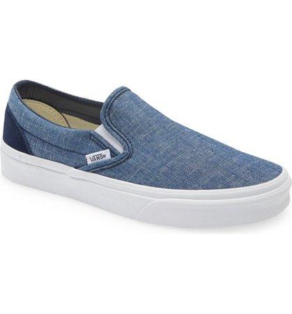 Chambray Classic Slip-On Sneaker | Nordstrom