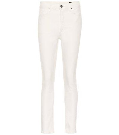 The High-Rise Slim-Straight jeans