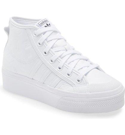 adidas Nizza Mid Top Platform Sneaker (Women) | Nordstrom
