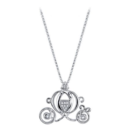 Cinderella Coach Diamond Necklace | shopDisney