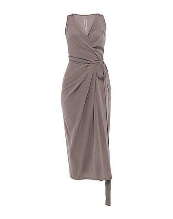 RICK OWENS Midi Dress - Women RICK OWENS Midi Dress online on YOOX United States - 15013087PL