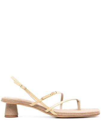 Jacquemus Basgia Strappy Sandals - Farfetch