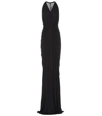 Lillies Jersey Maxi black Dress
