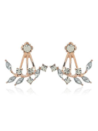 Swing Rhinestone Stud Earrings
