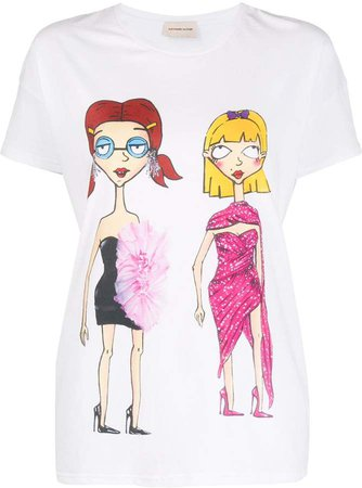 printed ladies T-shirt