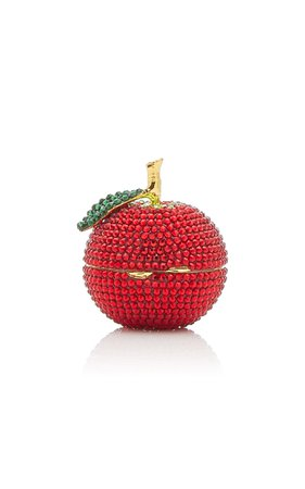 Delicious Apple Crystal Pillbox By Judith Leiber Couture | Moda Operandi