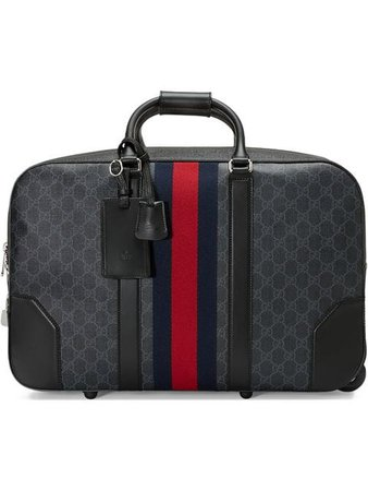 Gucci Soft GG Supreme carry-on duffle with wheels $2,590 - Shop SS19 Online - Fast Delivery, Price
