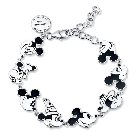Mickey Mouse Through the Years Bracelet | shopDisney