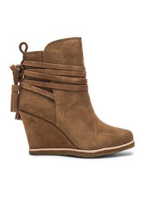 Tabitha Wedge Heel Bootie