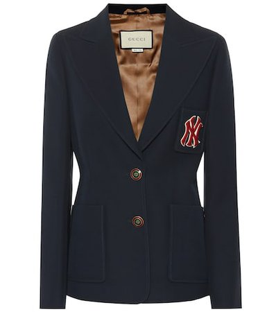 NY Yankees wool and silk blazer