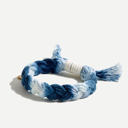 J.Crew: Braided Cord Bracelet For Women