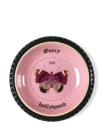 Gucci Hollywood butterfly-print Trinket Tray - Farfetch