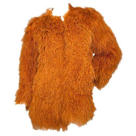orange fur coats - Google Search