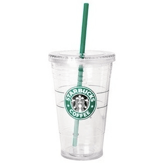 starbucks clear cup