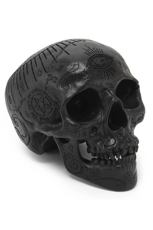 Killstar Nephilim Resin Skull