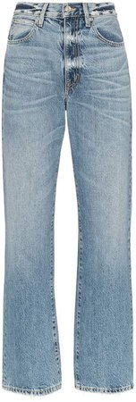 Slvrlake London distressed high-waisted jeans