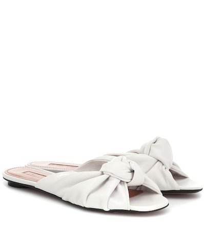 Betsy leather slippers