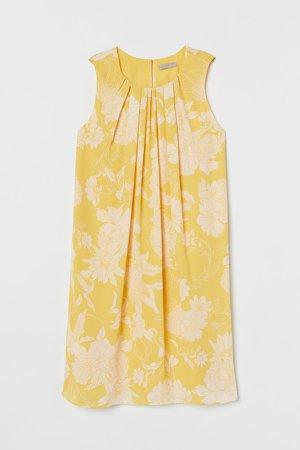 A-line Dress - Yellow