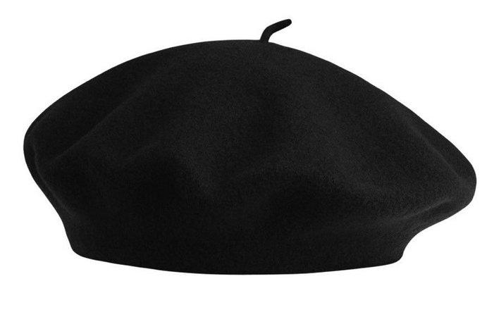 black french beret