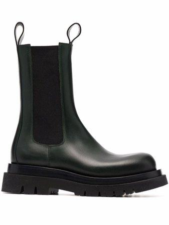 Bottega Veneta The Lug slip-on boots - FARFETCH