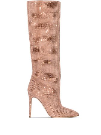 Paris Texas Holly 105mm knee-high boots