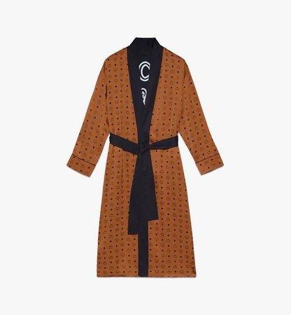 Classic Logo Silk Reversible Robe | MCM