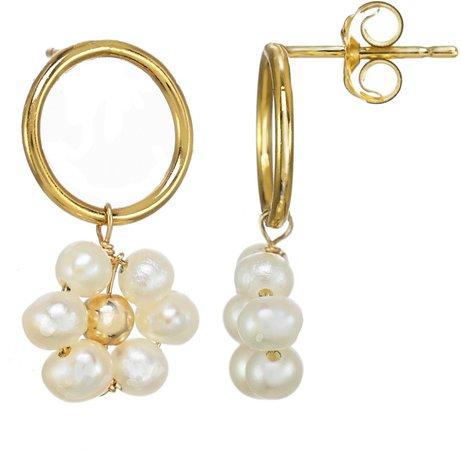 Girasol Geniune Pearl Drop Earrings