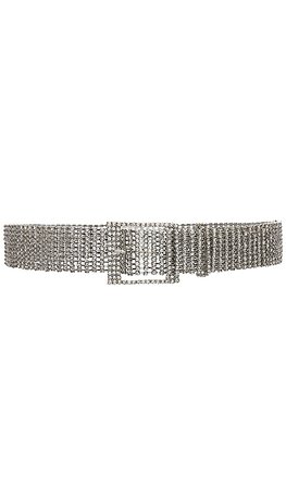 B-Low the Belt Farah Belt in Silver | REVOLVE