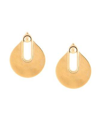 Goossens Fan Earrings Aw19   Farfetch.com