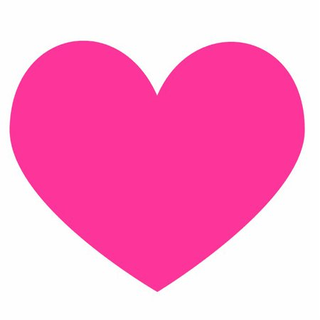 hot pink heart - Google Search