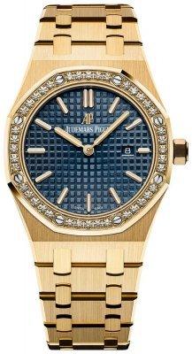 67651ba.zz.1261ba.02 Audemars Piguet Royal Oak Quartz 33mm Ladies Watch