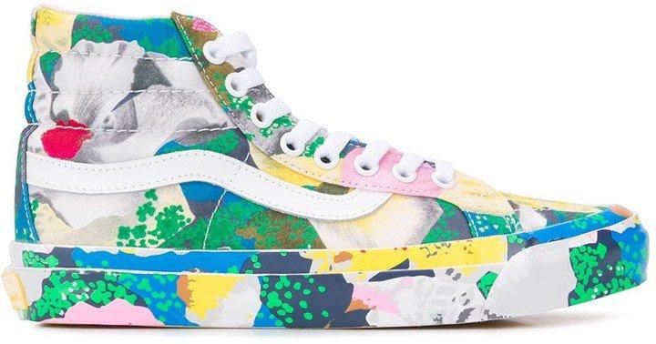 x Vans floral-print Sk8-Hi sneakers