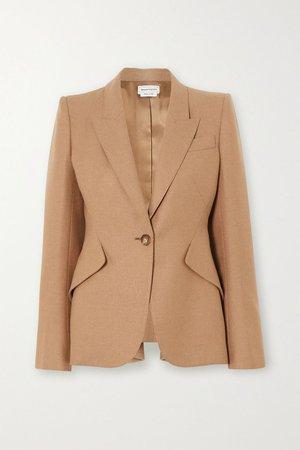 beige blazer | NET-A-PORTER