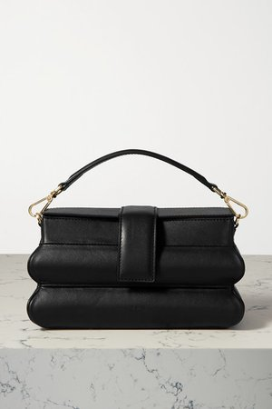 Hinadan Leather Tote - Black