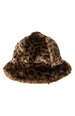 Kangol Faux Fur Casual Bucket Hat | Nordstrom
