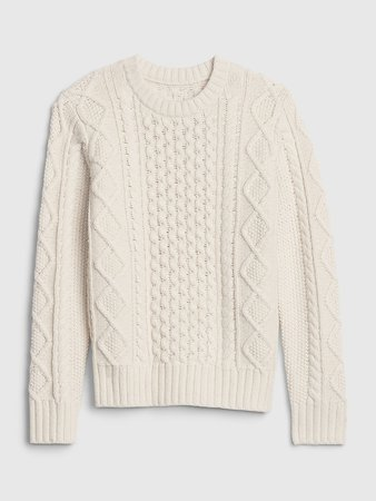 Kids Cable Knit Sweater | Gap
