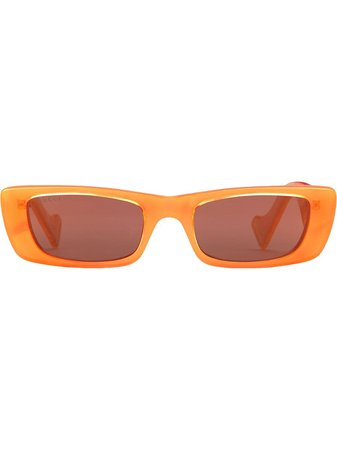 Gucci Eyewear Rectangular Frame Sunglasses